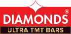 Diamonds Fe 500D Tmt steel and Bar manufacturers in Kerala,Calicut,steel rod,TMT Steel in Kerala,EQR,corrosion resistance TMT steel