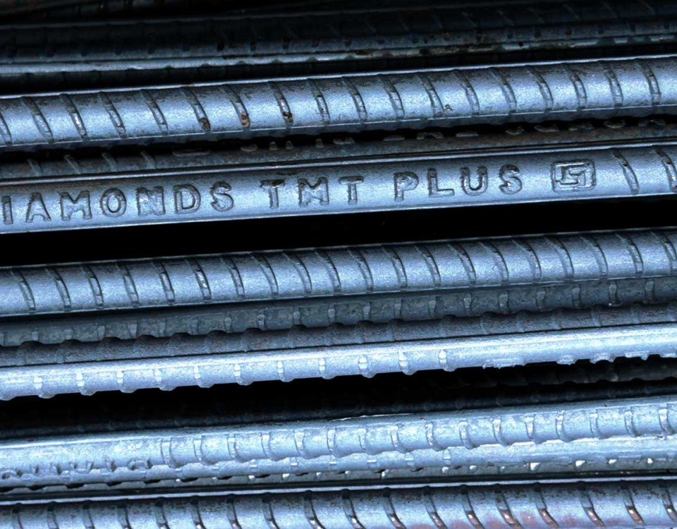 Diamonds Fe 500D TMT, Best TMT Bar Manufacturers In Kerala